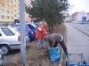 Úklid zelených ploch - Bezručova ulice